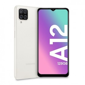 SAMSUNG GALAXY A12 128GB 4GB TIM COLOR WHITE