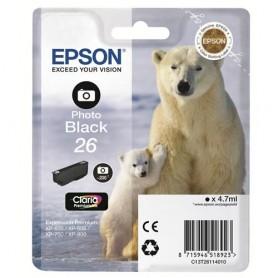 CARTUCCIA ORIGINALE EPSON 26 BLACK