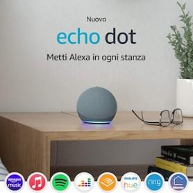 ALEXA ECHO DOT 4GEN CON SMART SPEAKER