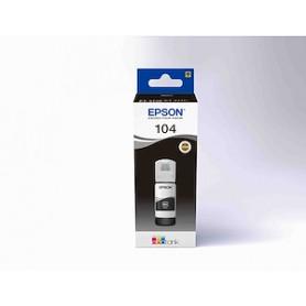 Flacone Colore Nero 104 Per Stampante Epson