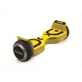 VEICOLO A 2 RUOTE HOVERBOARD MAX 10KM/H YELLOW
