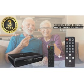 DECODER DIGITALE TERRESTRE DVB-T2 HD