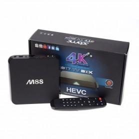 ANDROID TV BOX UHD PER SMART TV QUAD CORE WIFI BLU