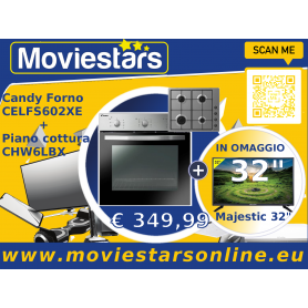 FORNO INCASSO E PIANO COTTURA CANDY +TV LCD 32