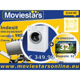 LAVATRICE INDESIT 9KG + TV LCD 32