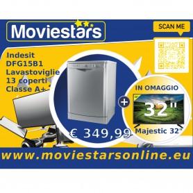 "Lavastoviglie Indesit 13 Coperti + Tv Lcd 32"""